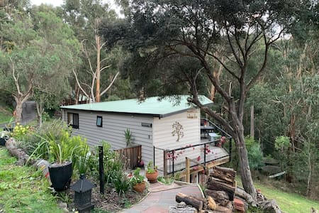 My cosy Lorne Cottage  Ocean & Bush views