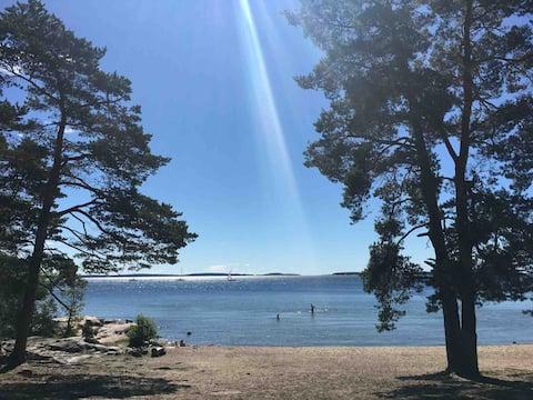 Stockholms skärgård- familjehus nära natur och hav