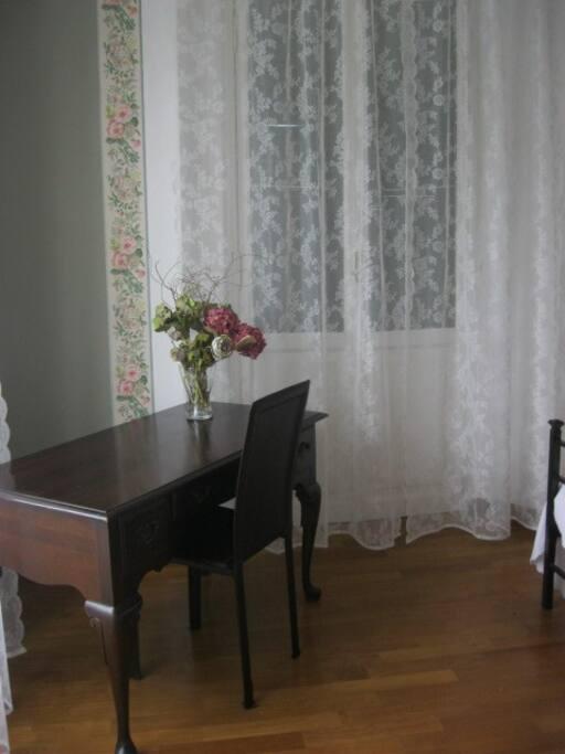 Corner of the masterbedroom