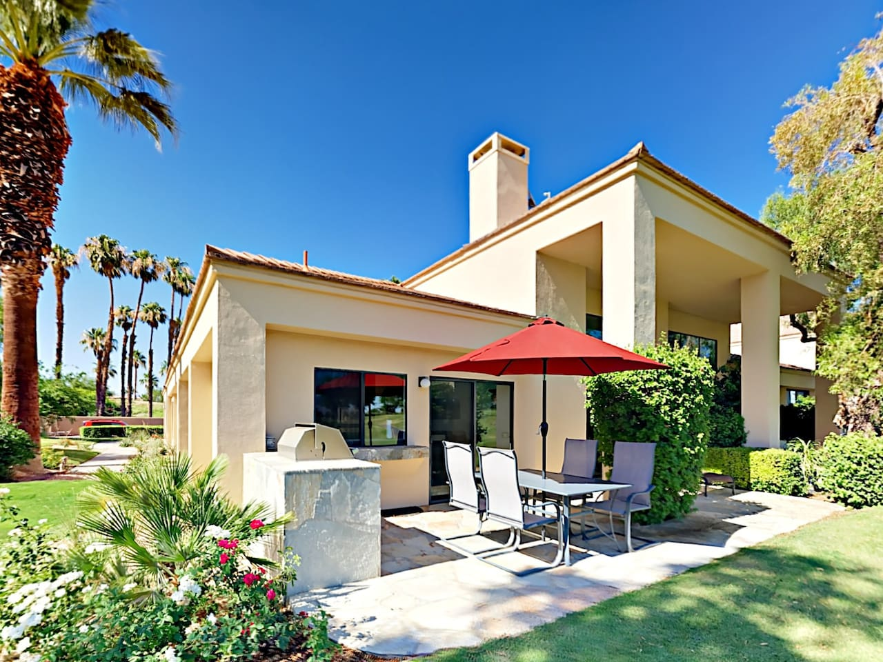 Welcome to La Quinta! Your condo comes with a private patio, professionally managed and maintained by TurnKey Vacation Rentals.