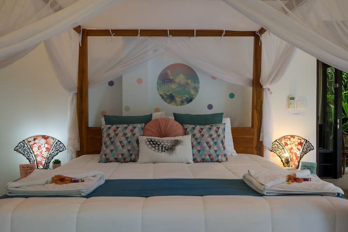 Bedroom 1 - The dream room with large private ensuite and private pool patio