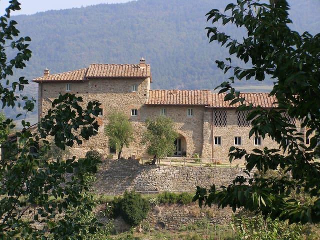 Podere Torremozza - Apt Il Nido, sleeps 2 guests - Pelago - Apartemen