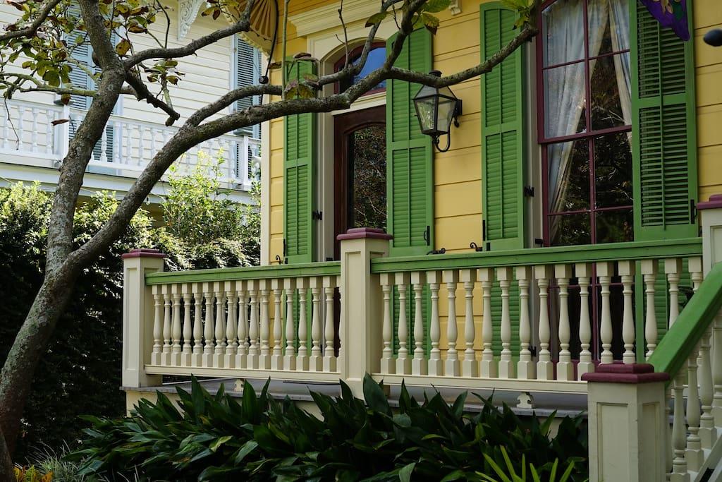Left Front Porch