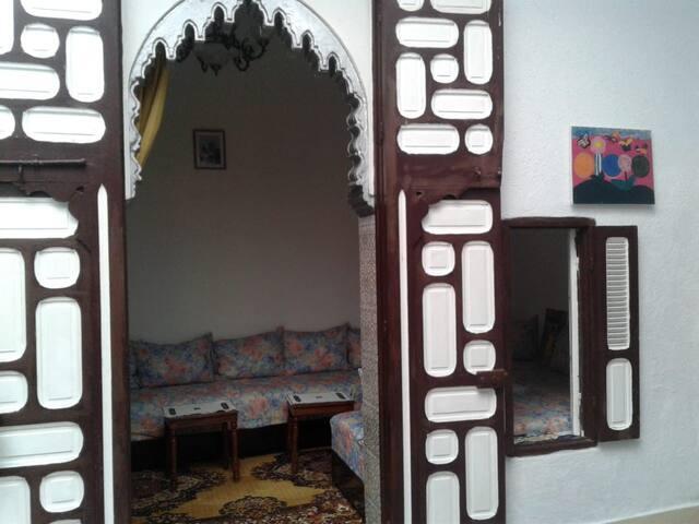 Maison traditionnelle artisanale très accueillante