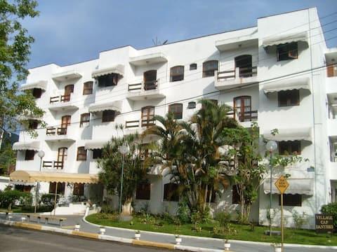 Квартира в Убатубе! Бразильский стиль жизни.