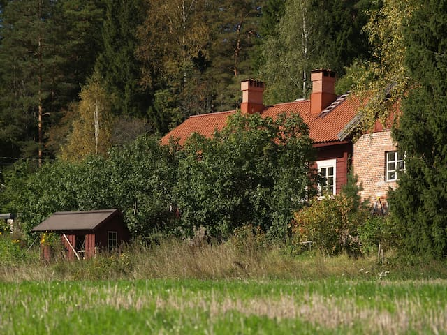 Old barn near beautiful Billnäs village