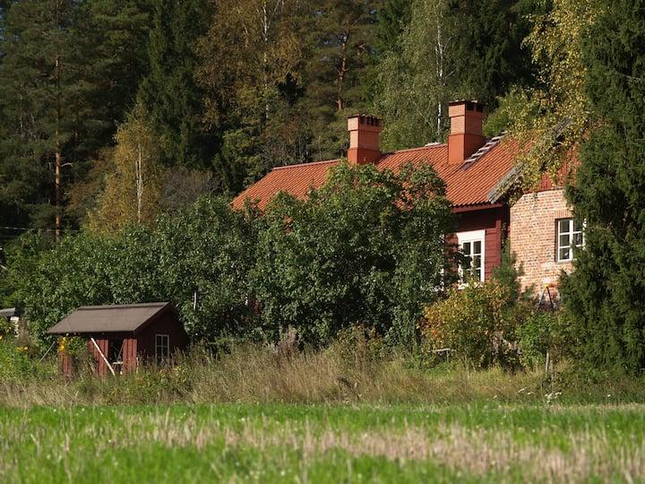 Old barn near beautiful Billnäs village