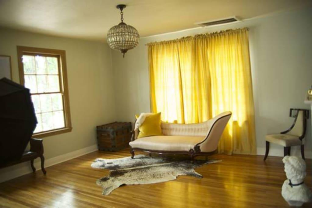 Beautiful Sunlit Living Room