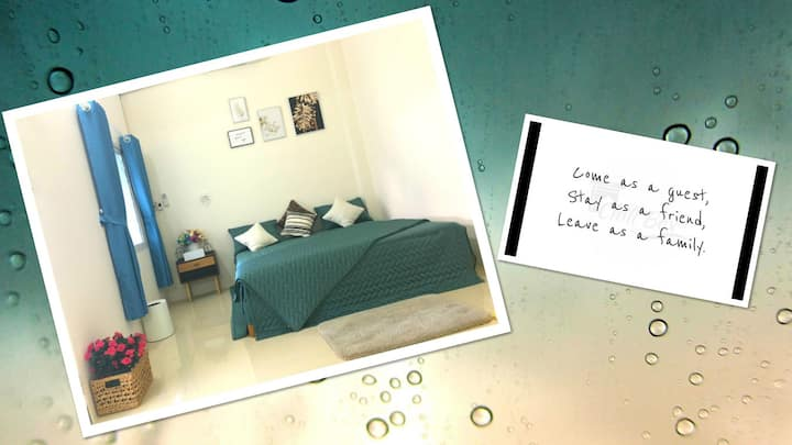 PIPU Home in center/few mins to all your needs #03