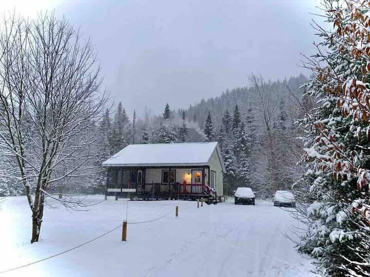 Le chalet Base Camp de la Vallée du Bras du Nord