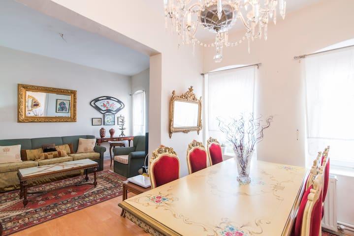 Antique Flat Next To Galata Tower - Beyoğlu - Apartment