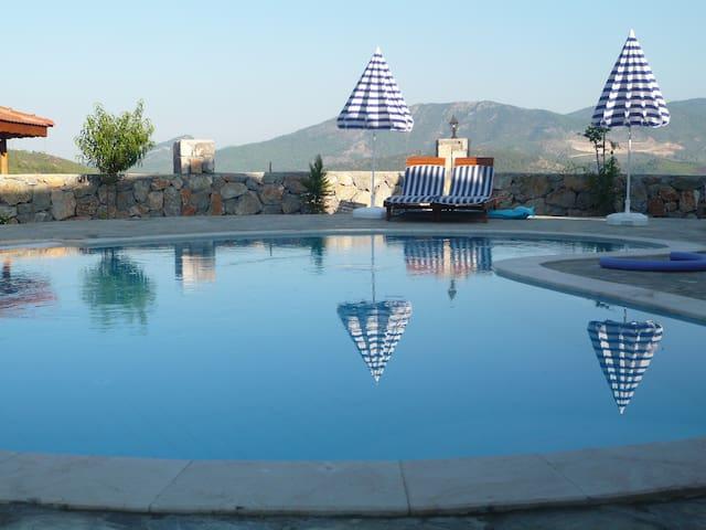 Yayla Villa, Panoramic Views, Pool - Yesil Uzumlu, Fethiye Mugla 48300