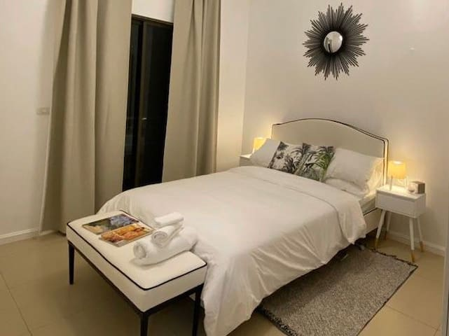 ★ Cozy BR with big private terrace serviced VILLA
