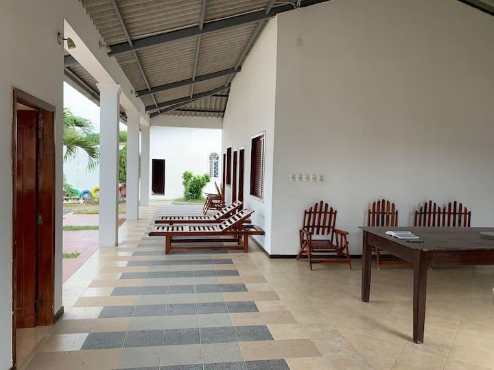 Habitacion descanso y salud con aguas termales