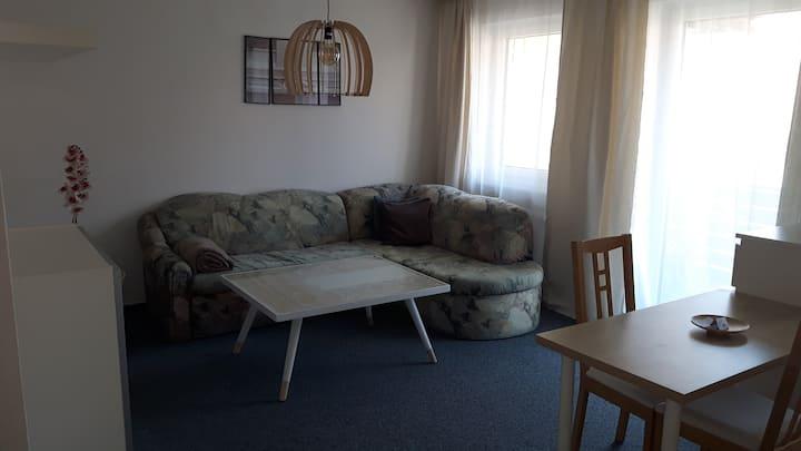 42qm Apartment im Centrum von Erlangen mit Balkon