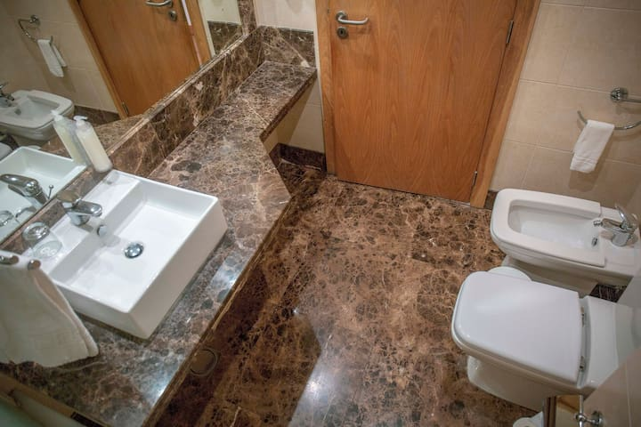 Our Bathroom has also a nice size...