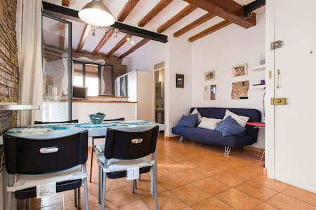 Cozy flat in front of the beach. - Barcelona - Lejlighed