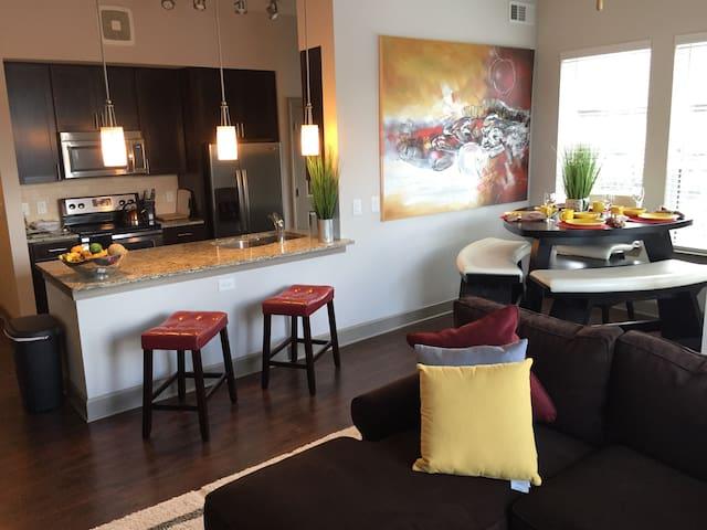 Luxury Private 1 bedroom Buckhead - Atlanta - Huoneisto
