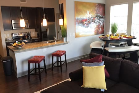 Luxury Private 1 bedroom Buckhead - Atlanta - Huoneisto