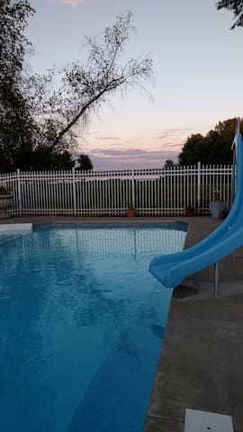 The Lake House pool will be open through September