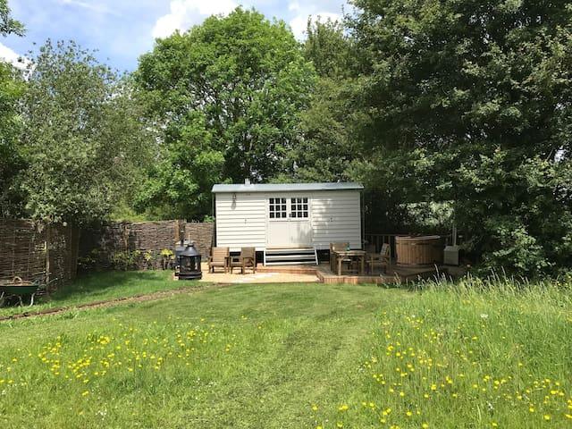 Fosters meadow shepherds hut