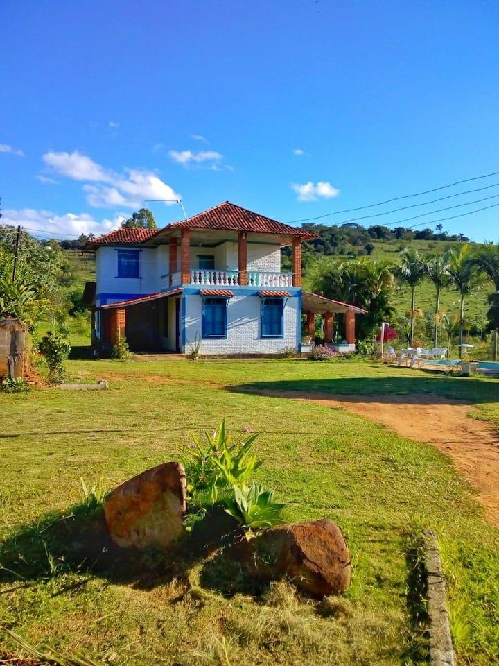 Casa mineira aconchegante - Rio Novo MG