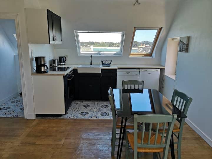 Appartement avec vue sur Mer à Trégastel
