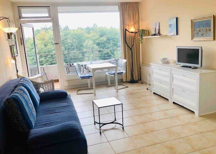 """FeWo/Appartement """"Harmonie"""" Balkon und Waldblick"""