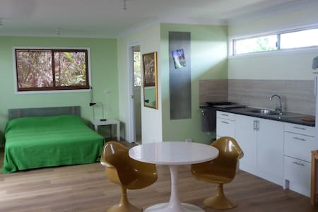 Private relaxing garden studio 400m to town centre - Mullumbimby - Chalet