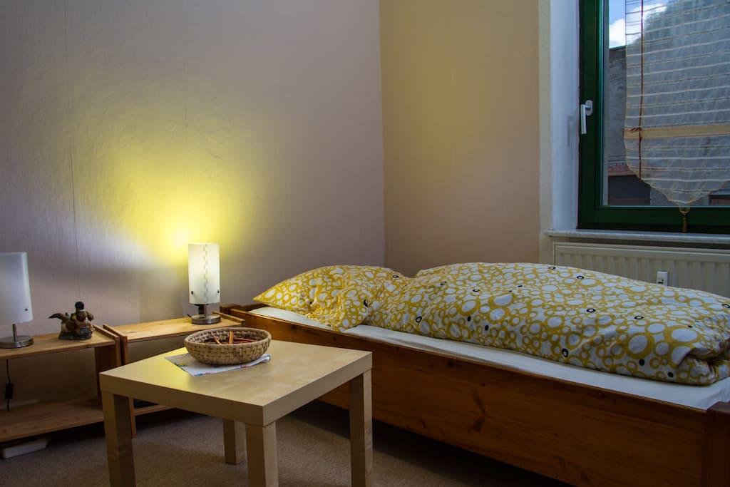 2.Schlafzimmer mit 2 Einzelbetten