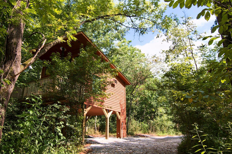 #1 White Pine Treehouse