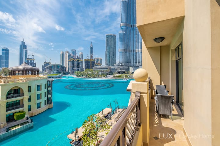 LUX | The Royal Burj Khalifa Fountain View Suite