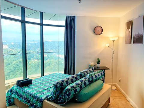 Armanee Suite(Free Parking/WiFi/Netflix/KLCC View)