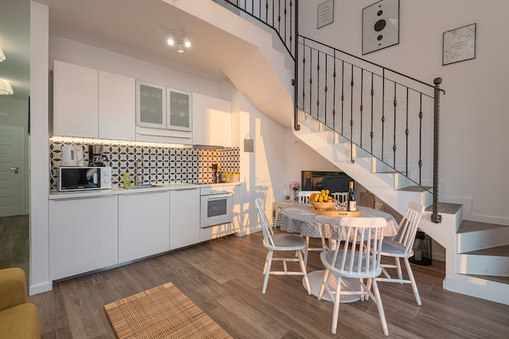 Superior gallery apartment with balcony &sea view