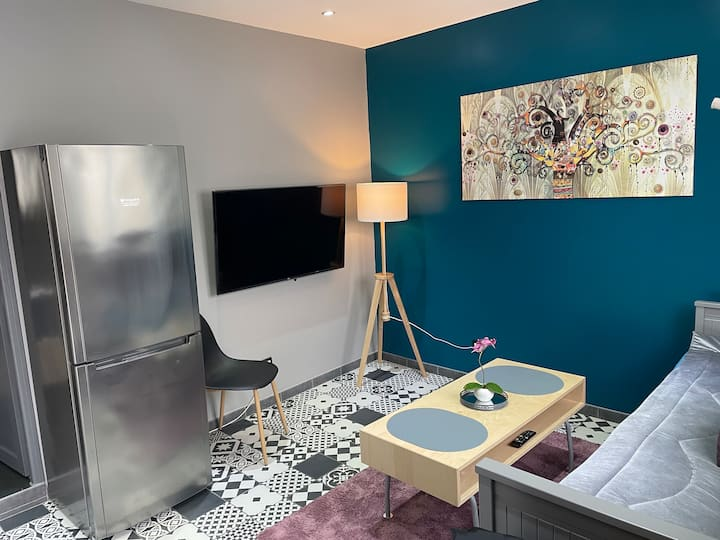 🛏 Appartement moderne Cosy T2 proche Paris /Orly
