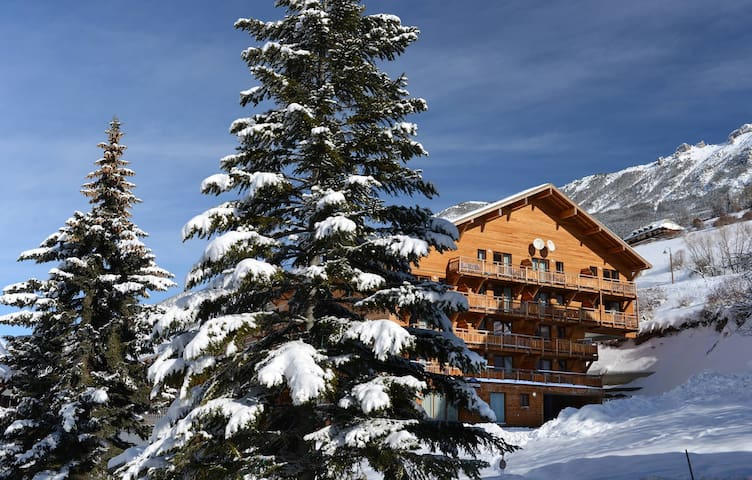 Set among forests of larch and pine, enjoy the gorgeous natural surrounding of the resort.