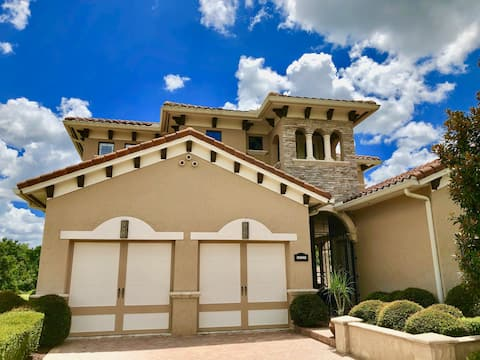 Tuscan Villa with private pool 5BD/5BA