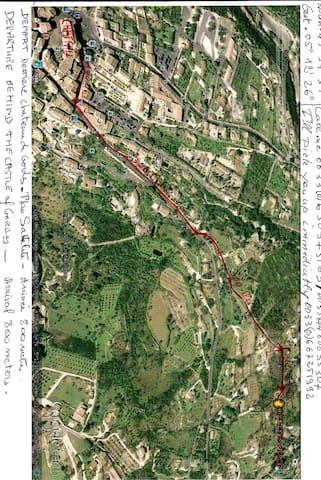 plan d acces satellite GPS