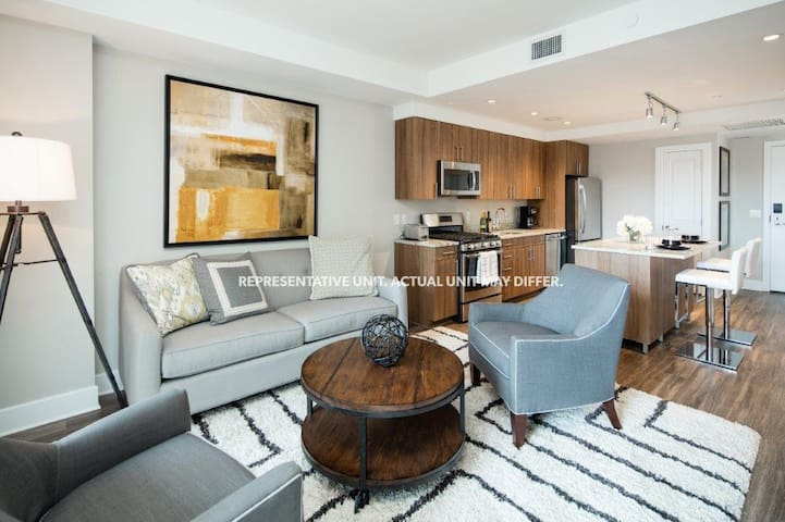 1BR/1BA apartment with stunning balcony - Arlington - Apartamento