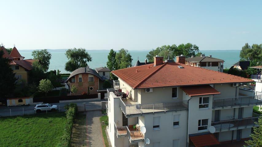 Panoramic apartment at lake Balaton, Siófok