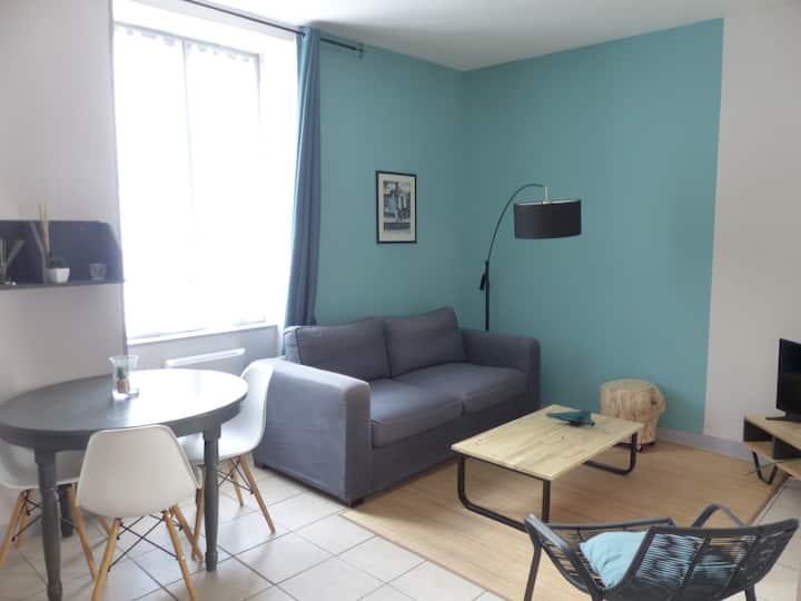 Appartement Cosy en centre ville , calme, lumineux