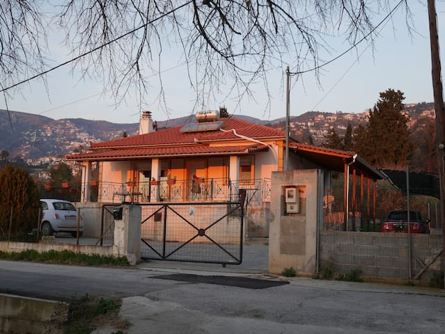 cozy house in a 2400m2 olive grove - Anakasia - Hus