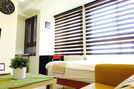滿足飲食、觀光、採購、休憩的市中心寧靜空間【近新竹市火車站】 - Apartemen