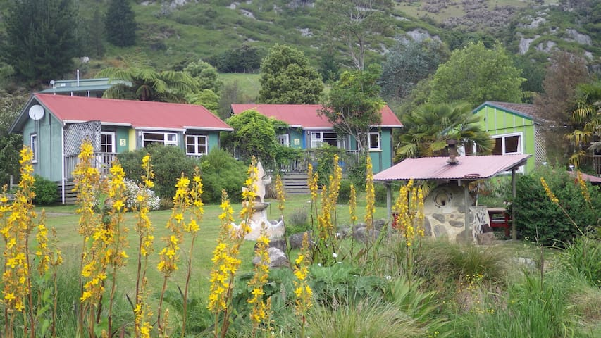 View of our cottages.
