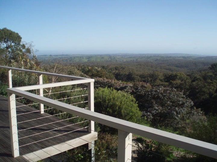 Amazing Views at Three Hills Unique SA Bush Home