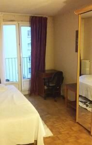 chambre privée a pantin et 5mn de paris - Pantin - Appartement