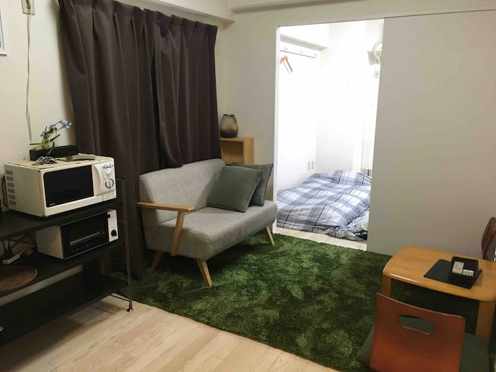 Convenient & tidy room very near from Station