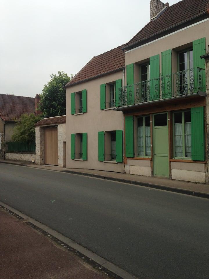L'ancienne petite Auberge près de Giverny