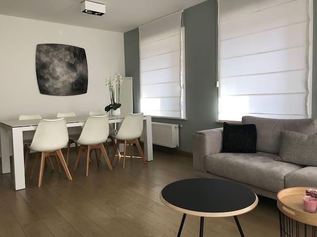 Très bel appartement rénové á 20M Lippenslaan