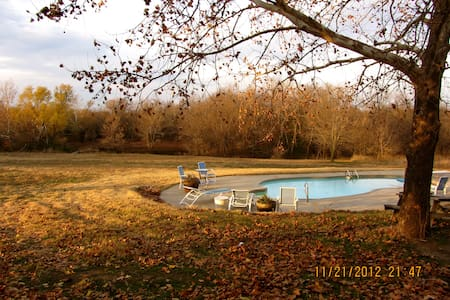 Country Retreat in S. Bartlesville - Bartlesville - Talo